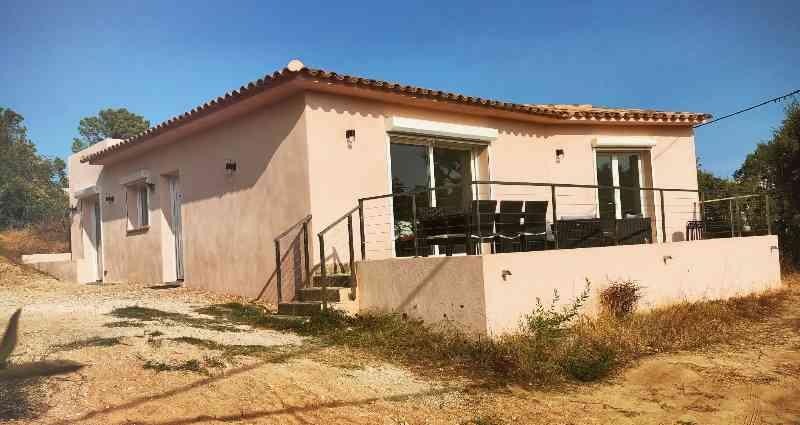 location vacances maison-villa Corse-du-sud