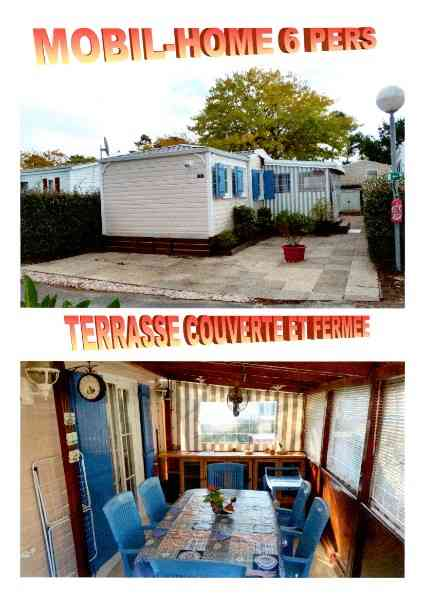 location vacances mobil home Charente-maritime