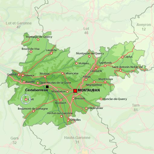 location vacances maison-villa Tarn-et-garonne
