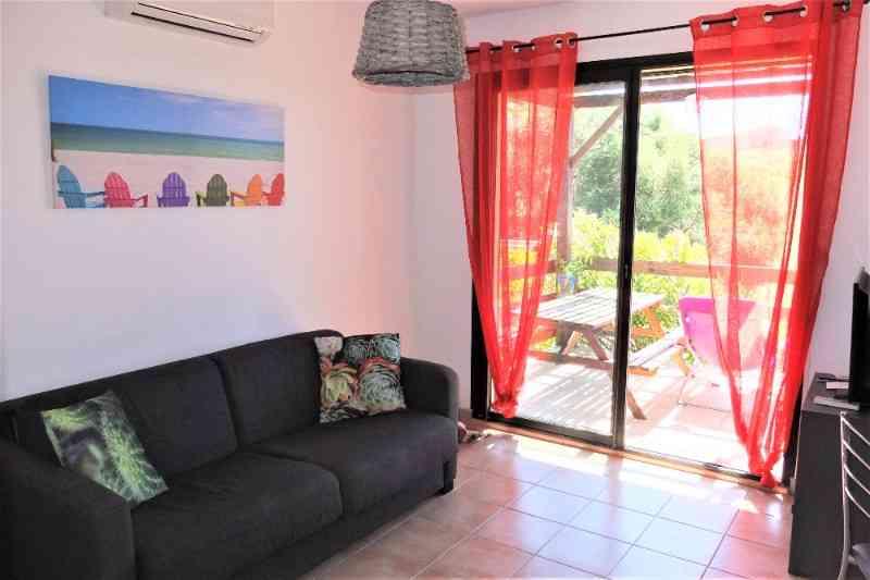 location vacances appartement Corse-du-sud